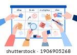 concept of agile development.... | Shutterstock .eps vector #1906905268