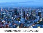 Melbourne   Apr 14 2014 Aerial...