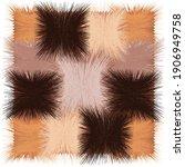 shaggy mat carpet  rug ...   Shutterstock .eps vector #1906949758