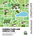 garden  agriculture and farm... | Shutterstock .eps vector #1906951495