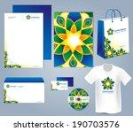 arabic corporate identity... | Shutterstock .eps vector #190703576
