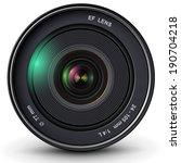 camera photo lens  vector... | Shutterstock .eps vector #190704218