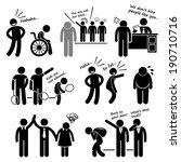 discrimination racist prejudice ... | Shutterstock . vector #190710716