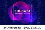 stream of binary matrix code on ...   Shutterstock .eps vector #1907122102