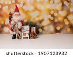 christmas tree ornaments or... | Shutterstock . vector #1907123932
