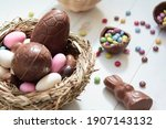 Chocolate Eggs And Easter...