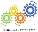 illustration and business image ...   Shutterstock .eps vector #1907311282