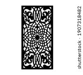 laser and cnc cutting pattern... | Shutterstock .eps vector #1907318482