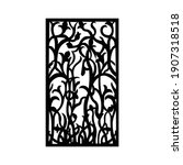 laser and cnc cutting pattern... | Shutterstock .eps vector #1907318518