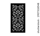 laser and cnc cutting pattern... | Shutterstock .eps vector #1907318548