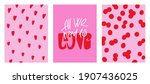 cute minimalistic posters for...   Shutterstock .eps vector #1907436025