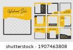 social media template post for...   Shutterstock .eps vector #1907463808