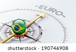 brazil high resolution euro...   Shutterstock . vector #190746908