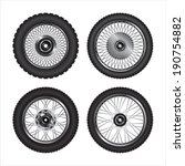 Detailed Motorcycle Wheels....