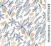 seamless watercolor pattern... | Shutterstock . vector #1907552668