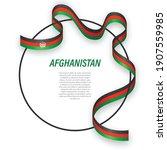 waving ribbon flag of...   Shutterstock .eps vector #1907559985