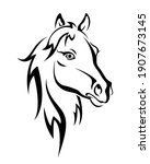 Beautiful Horse Vector Isolated ...