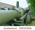 district heating pipe in... | Shutterstock . vector #190767818