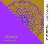 mandalas. decorative round... | Shutterstock .eps vector #1907720182