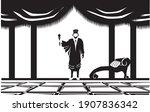 Vector Illustration Of King...