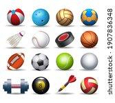 Sports Equipment Pack. Balling...