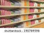 large shelf inside retail store ... | Shutterstock . vector #190789598