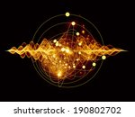 atomic series. abstract concept ...   Shutterstock . vector #190802702