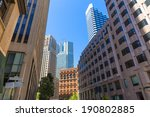 san francisco downtown... | Shutterstock . vector #190802885