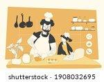 vector illustration of family...   Shutterstock .eps vector #1908032695