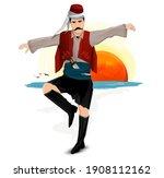 efe  zeybek  harmandali.... | Shutterstock .eps vector #1908112162