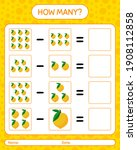 How Many Counting Game Eggfruit....