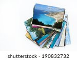 a pile of photographs with your ... | Shutterstock . vector #190832732