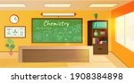 chemistry class interior design ...   Shutterstock .eps vector #1908384898