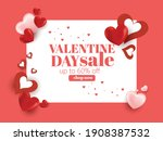 valentines day background... | Shutterstock .eps vector #1908387532