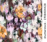 watercolor floral seamless... | Shutterstock . vector #1908404428