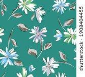 floral seamleass pattern made... | Shutterstock .eps vector #1908404455