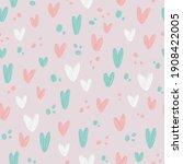 raster seamless background  oil ... | Shutterstock . vector #1908422005