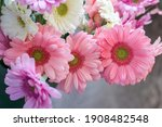 A Bouquet Of Colorful Gerbera