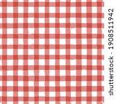 gingham seamless pattern.... | Shutterstock .eps vector #1908511942