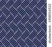 seamless pattern geometric line.... | Shutterstock .eps vector #1908514522