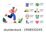 run infographic. jogging...   Shutterstock .eps vector #1908533245