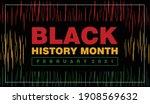 poster of black history month...   Shutterstock .eps vector #1908569632