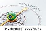 brazil high resolution choice...   Shutterstock . vector #190870748