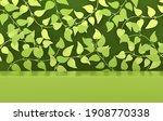 3d rendered studio with spring... | Shutterstock . vector #1908770338