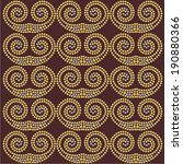 ornamental curls from brilliant ... | Shutterstock .eps vector #190880366