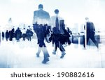abstract image of business... | Shutterstock . vector #190882616