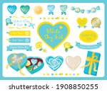set of candy and seal of the... | Shutterstock .eps vector #1908850255