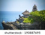 tanah lot temple on sea in bali ... | Shutterstock . vector #190887695