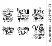 Southern Girl Quotes Bundle Svg ...