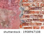 Brickwork And Loose Plaster On...